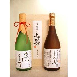 上げ馬[有機純米吟醸・純米大吟醸セット] 720ml 2本セット◆有機JAS認定米◆